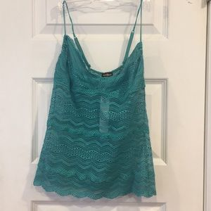 Cosabella Ceylon Long Camisole-M-New Teal